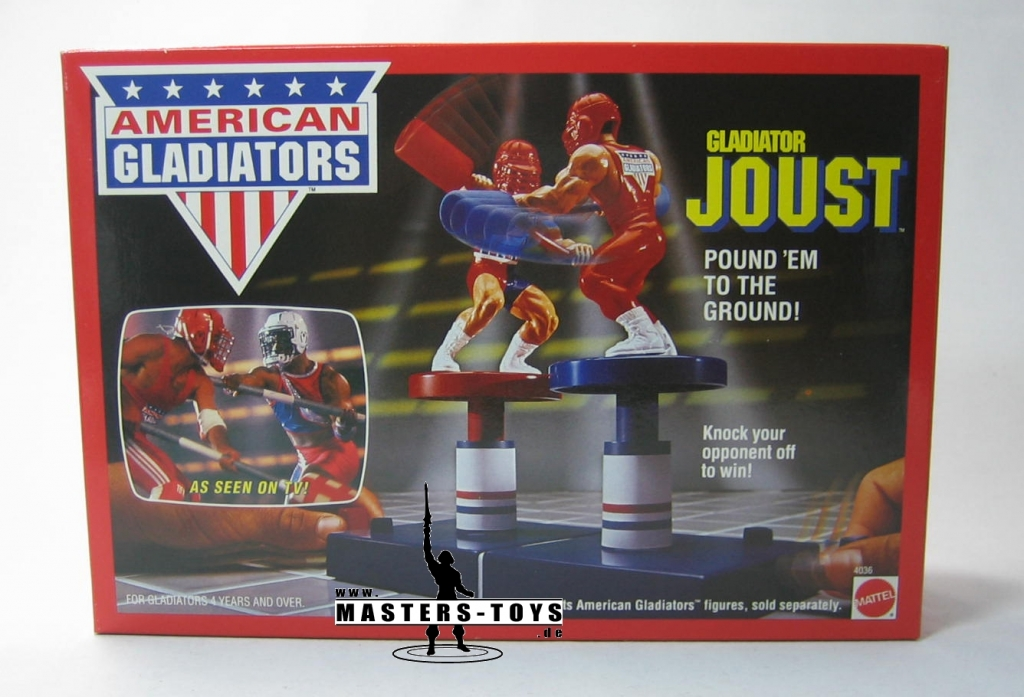 American Gladiators - Joust - Evan vs Titan